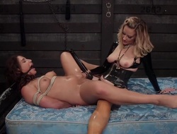 Thrall to Desire: Maitresse Madeline dominates 19-year-old lesbian anal slut!