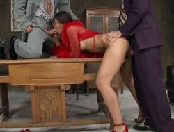 Brunette hair doxy Malaya is fantastic about hardcore rimming