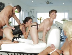 TwistedVisual.com - Coarse Double Penetration Orgy