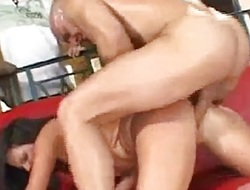 Randy fit together gets her pussy drilled