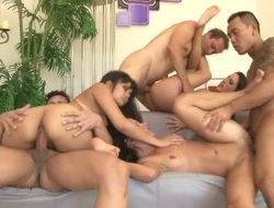 Keni Styles uses his sturdy jock to bring Asian Kortney Kane to the trail of joy
