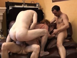 Group aged orgy apropos for everyone holes