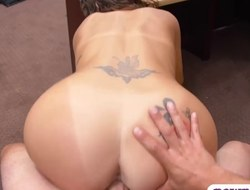 hot non-professional brunette hottie gets railed by pawn keeper feature