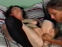 Younger Fellow Bangs Granny In Bedroom