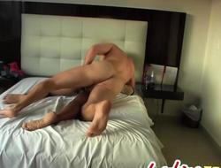 Lovely Latina Gets A Hardcore Asshole With the addition of Pussy Sting