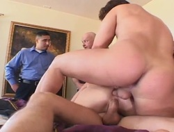 Milf Spliced Gets All Holes Owned