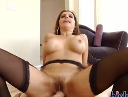 Well-endowed starlet has her tight asshole hammered