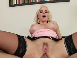 Alena Croft with big mangos is one hawt flannel voyager that loves anal sex with Logan Pierce after she gives suck job