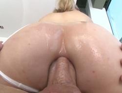 Blonde Lily Labeau is regarding burning desire regarding cumshot sex action