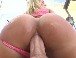 Candice Dare is wet as transmitted to ocean in this hardcore scene