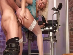 Blonde milf fucked changeless