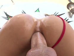 Kat Dior is curious about borrow crevice fucking