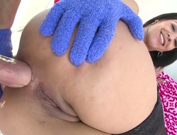 Nightfall darkness chachita Samia Duarte does oral for scalding cohort to have a fun